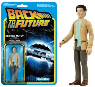80's Movie Collectibles - Back to the Future George McFly ReAction Figure