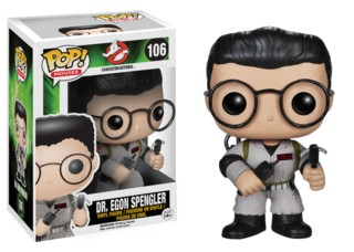 Movies from the 1980's Collectibles Ghostbusters Egon Spengler POP Vinyl Figure Harold Ramis