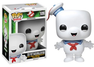 Movies from the 1980's Collectibles Ghostbusters Stay Puft Marshmallow Man POP Vinyl Figure