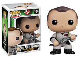Movies from the 1980's Collectibles Ghostbusters Peter Venkman POP Vinyl Figure Bill Murray