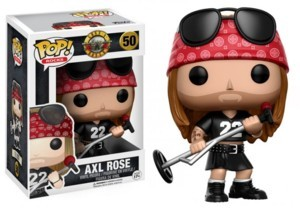 Rock and Roll Collectibles - Guns and Roses Heavy Metal Axl Rose POP! Vinyl Figure