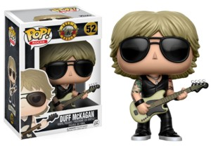 Rock and Roll Collectibles - Guns and Roses Heavy Metal Duff McKagan POP! Vinyl Figure