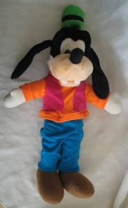 Disney Collectibles - Goofy Plush Stuffed Animal Character