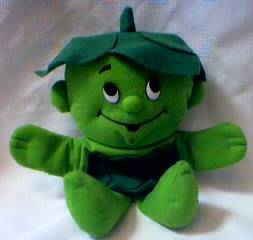 Advertising Collectibles - Green Giant - Lil Sprout Plush Hand Puppet