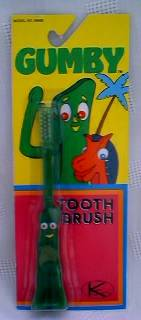 Cartoon Collectibles - Gumby Toothbrush