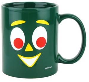 Cartoon Collectibles - Gumby Ceramic Coffee Mug