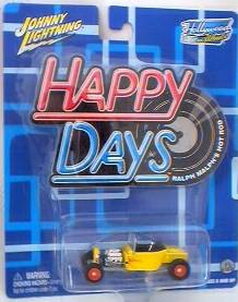 Happy Days - 1970's Television Show Collectibles - Ralph Malph Hot Rod Die Cast