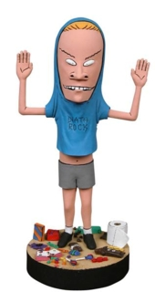 Television Character Collectibles MTV's Beavis and Butt-Head Cornholio Headknocker Bobble Head Doll