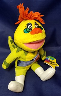 Television from the 1960's - 1970's Collectibles - Sid & Marty Kroft - HR Puffnstuff Beanie Plush Bean Bag
