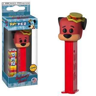 Hanna Barbera Collectibles - Huckleberry Hound RED Chase Pez by Funko