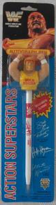 Pro Wrestling Collectibles - WWF World Wrestling Federation Hulk Hogan Pen & Topper