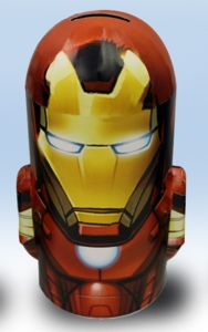Marvel Comics Collectibles - Iron Man Metal Bank