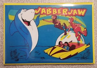 Television Character Collectibles - Hanna Barbera's Jabber Jaw Magnet