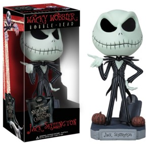Walt Disney Movie Collectibles | Nightmare Before Christmas Jack Skellington Bobblehead Doll