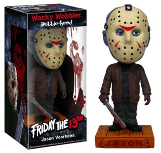 Horror Movie Collectibles - Jason Voorhees Friday the 13th Bobblehead dolls, nodders