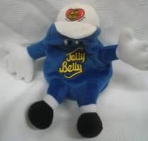 Advertising Collectibles - Jelly Belly Jelly Bean Blue Blueberry Beanie Clip