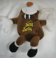 Advertising Collectibles - Jelly Belly Jelly Bean Brown A&W Root Beer Beanie Clip
