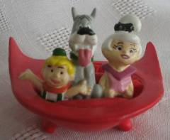 Cartoon Collectibles - The Jetsons - Elroy, Astro and Judy in Flying Saucer