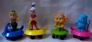 Cartoon Collectibles - The Jetsons - Jetsons on Flying Platforms