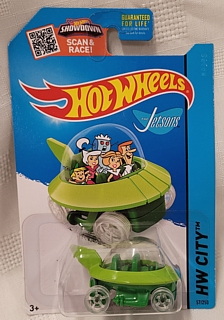 Cartoon Collectibles - Hot Wheels The Jetsons Capsule Car