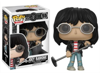 The Ramones - Joey Ramone Jeffrey Ross Hyman Pop Rocks Vinyl Figure