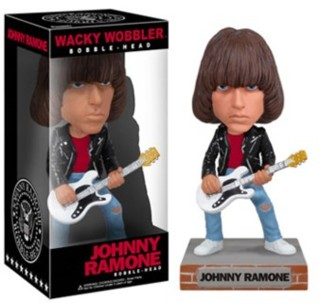 The Ramones - Johnny Ramone John William Cummings Wacky Wobbler Bobble Head Doll