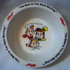 Kellogg's Collectibles - Snap, Crackle & Pop Cereal Bowl