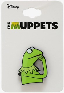 Muppets Collectibles - Kermit the Frog Enamel Pin