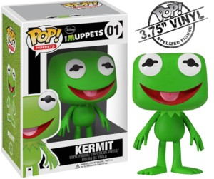 Muppets Collectibles - Kermit the Frog Pop! Vinyl Figure