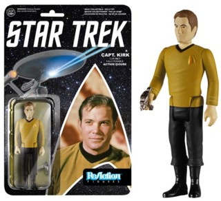 Star Trek Collectibles - James Tiberius Kirk ReAction Figure