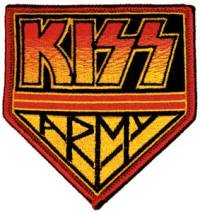 Music Character Collectibles Kiss Army Patch