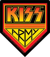 KISS Collectibles - Kiss Armt Sticker