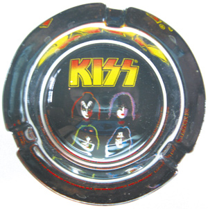 KISS Collectibles - Kiss Glass Ashtray Incense Burner