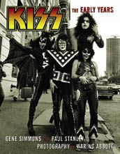 Rock and Roll Collectibles - Kiss Book The Early Years