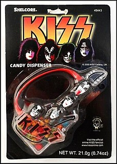 KISS Collectibles - Kiss Guitar Candy Dispenser