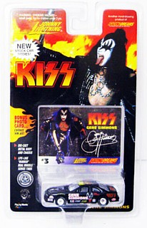 KISS Collectibles - Johnny Lightning KISS Gene Simmons Racing Car