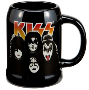 Rock and Roll Collectibles - Kiss Ceramic Mug Stein