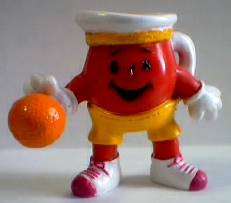Advertising Collectibles - KoolAid Man Basketball Figure