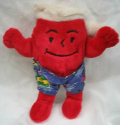 Advertising Collectibles - KoolAid Man Bobble Head Doll Nodder