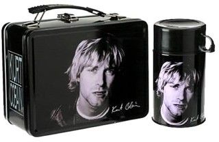 Nirvana Collectibles - Kurt Cobain Lunchbox with Drink Container