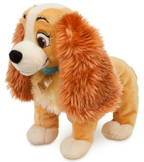 Disney Movie Collectibles - Lady and the Tramp - Lady Plush