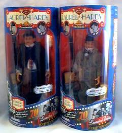 Stan Laurel and Oliver Hardy Dolls - Stanley and Ollie