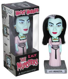 Television from the 1970's Collectibles - Lilly Munster Bobblehead Doll