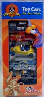 Looney Tunes Collectibles -  Racing Champions Diecast Cars