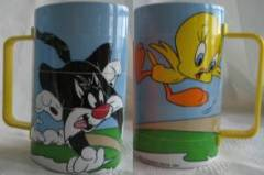 Looney Tunes Collectibles - Puzzle Mug Sylvester and Tweety