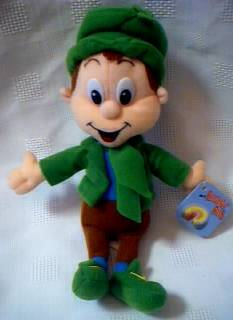 General Mills Cereal Collectibles - Lucky Charms Lucky the Leprechaun Beanie