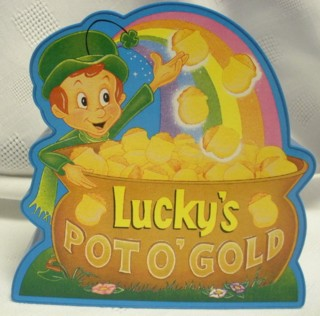 General Mills Cereal Collectibles - Lucky Charms Musical Coin Bank