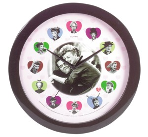 Lucille Ball - I Love Lucy Wall Clock