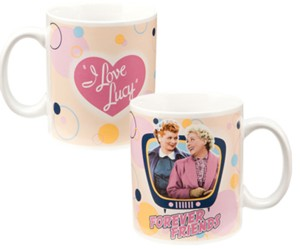 Lucille Ball - I Love Lucy Forever Friends Ceramic Mug