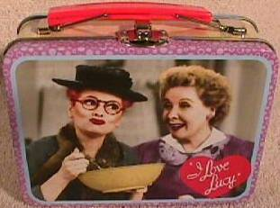 Lucille Ball - I Love Lucy Mini Metal Lunch box